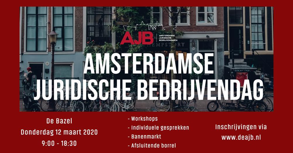 Aanmeldingen AJB 2020 open!
